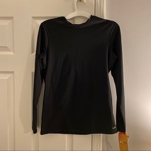 Size XL black long sleeve thermal NWT base layer